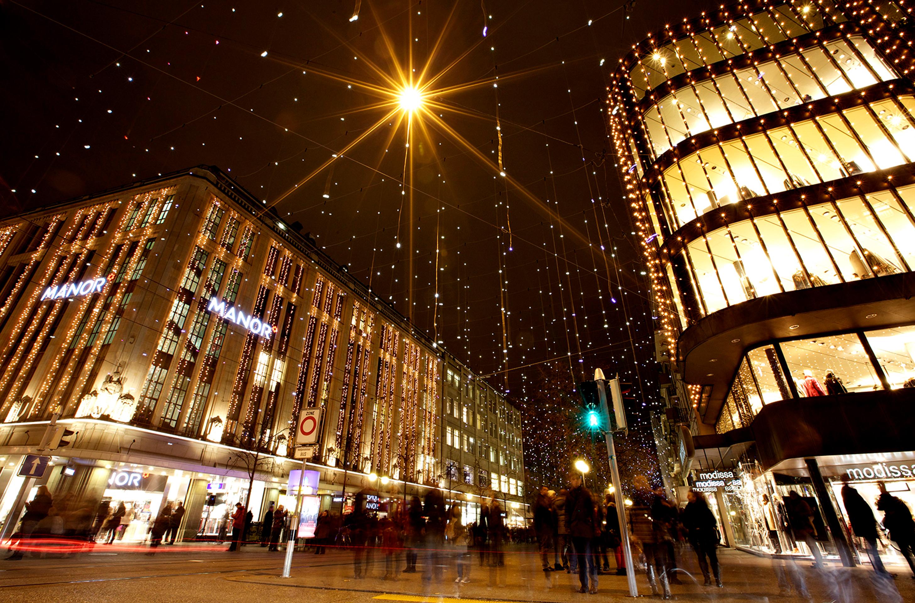 Freizeittipp: Weihnachtsbeleuchtung «Lucy» in Zürich – ZVV
