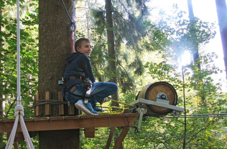 Kletterausrüstung Zürich : Freizeittipp: seilpark zürich u2013 zvv